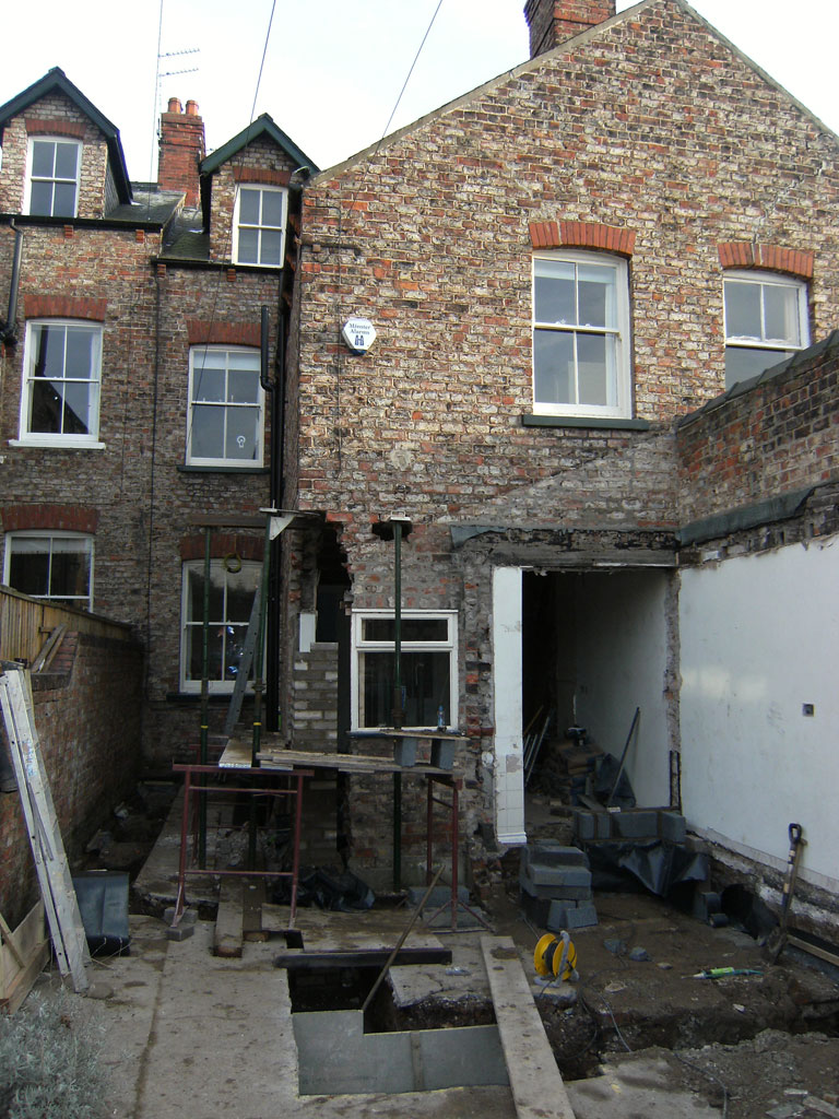 Victorian Terraced House Kitchen Extension Artisan Project Management Ltd