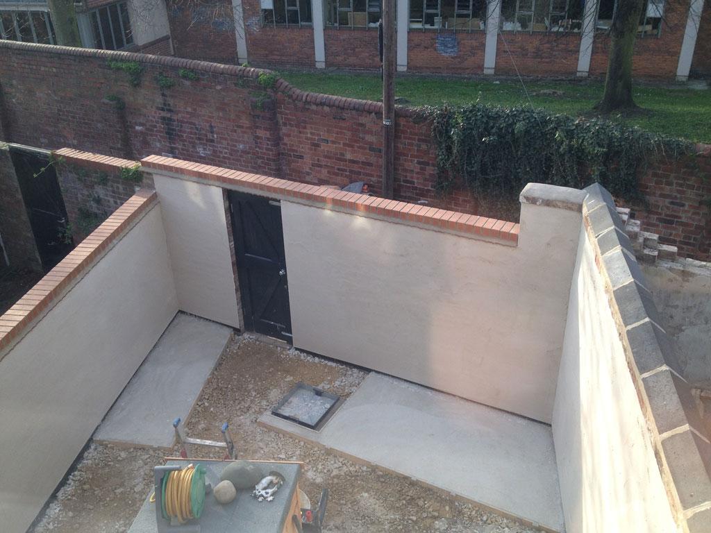 Small Victorian Terraced House Garden Artisan Project