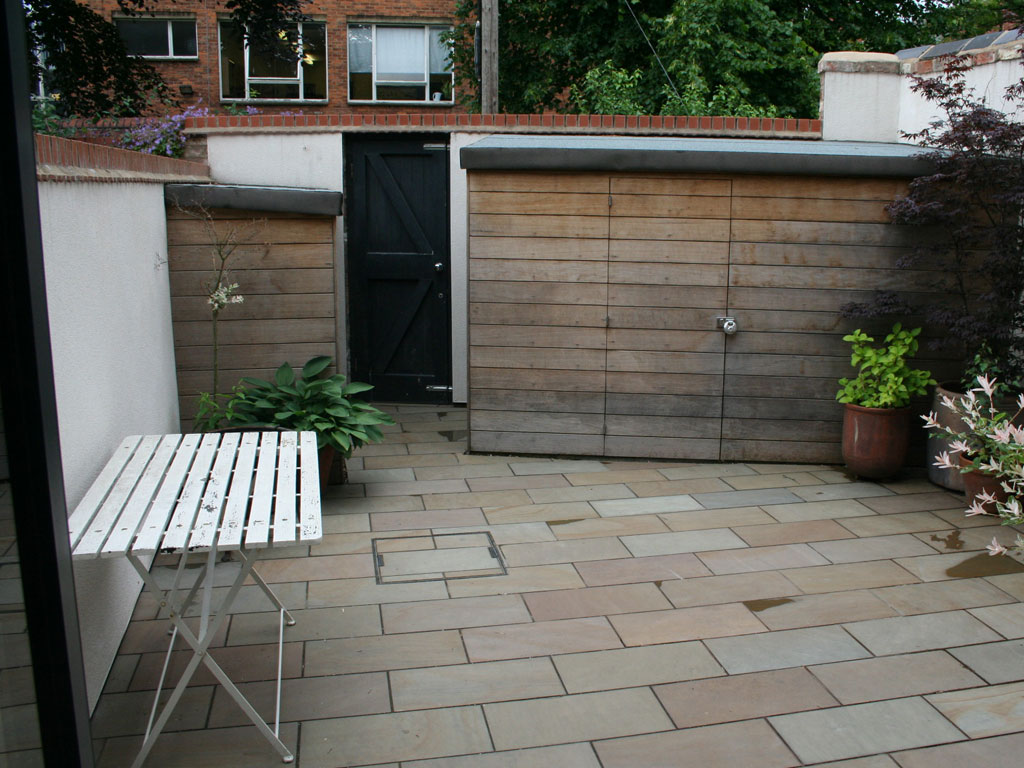 small victorian terraced house garden  u2014 artisan project