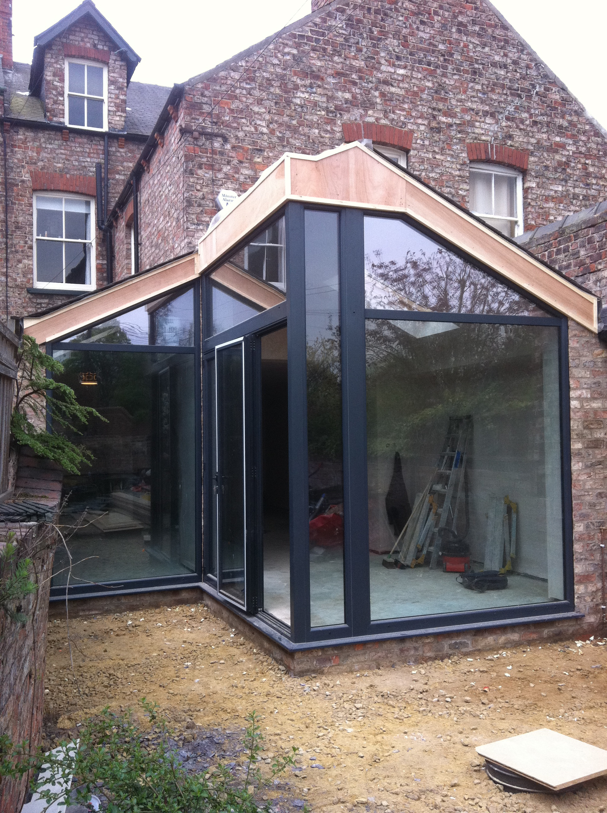 This Large Extension Provided A New Kitchen, Living Space With Vaulted  Ceiling And Bathroom. We Also Re Designed The Garden And Driveway.